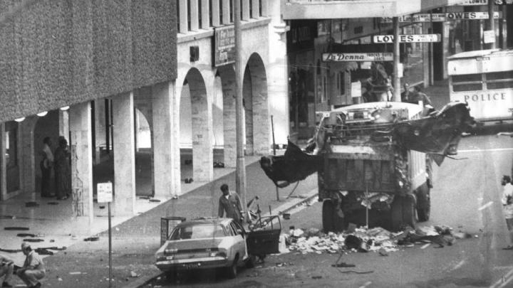 Hilton bombing