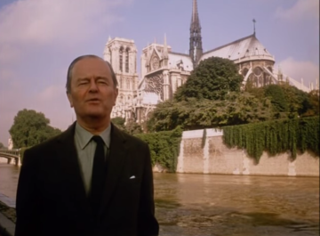 Sir Kenneth Clark narrating his 1969 documentary